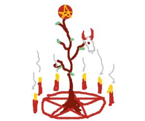pagan holiday tree
