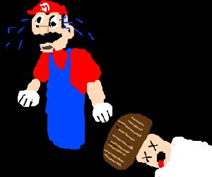 Mario accidently kills again
