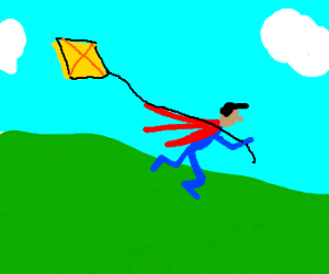 Superman on his day off.