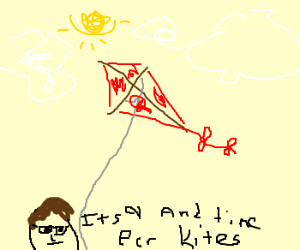 Supes says 9:00 is good time for kites
