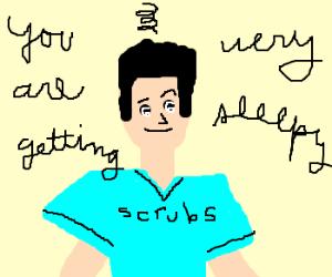 JD from Scrubs is Hypnotized