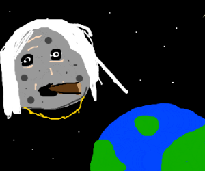 The moon is a paedophile
