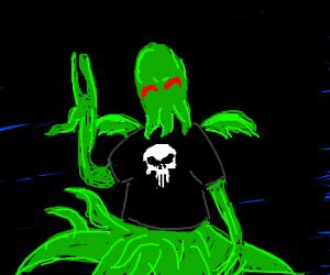 Cthulhu is A Punisher Fan Boy