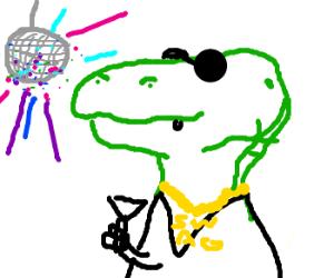 Disco Dinosaur