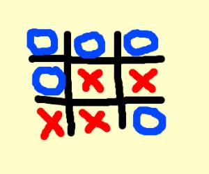 O gets Five Square Win!