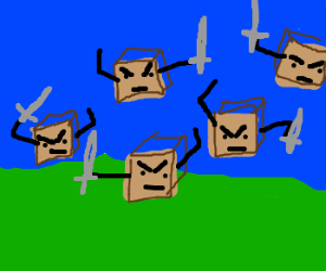 Attack of the killer boxes