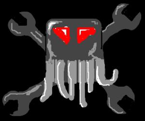 metal head Cthulhu