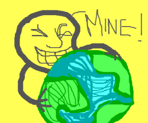 meme face stakes claim on the world