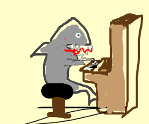 'Jaws' crossed with 'The Pianist'.