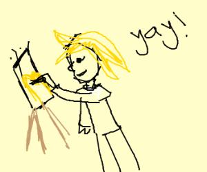 Dali's paint about McDonalds