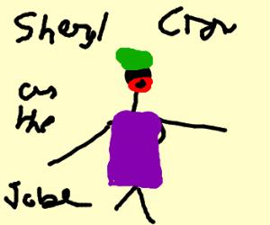 Sheryl Crow plays a batman villain