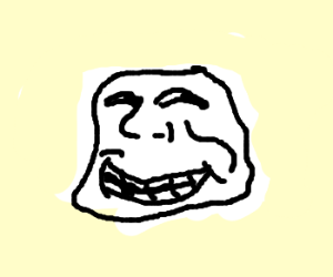 trollface guy gets facial reconstruction