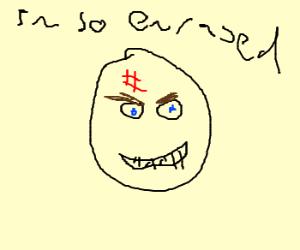 Smiling rage face.