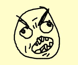 Rage face