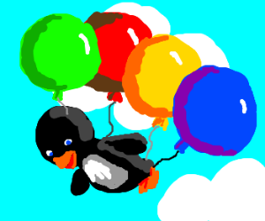 This Penguin CAN Fly!