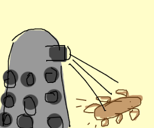 Daleks Think It Must Be Exterminated!
