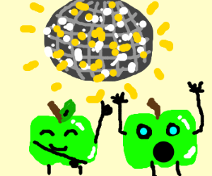 green apples get down at the disco