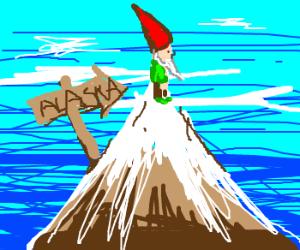 Garden Gnome, Alaska