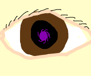 A void in your eye