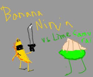 banana ninja vs lime samurai