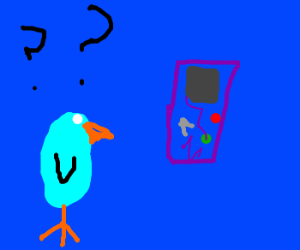 Bird questions Gameboy's existence