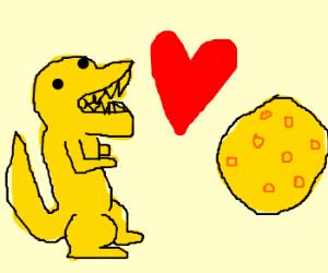 cheezasaurus rex loves the swiss