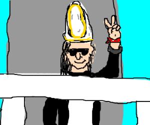 Skrillex the Pope