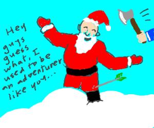 Santa: beating a dead reindeer