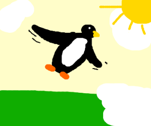 Penguins finally learn how to fly