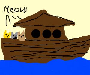Internet Noah's Ark full of cats.