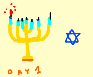 Chanukah: Day 1 (Let's Party!)