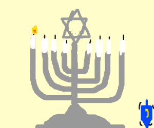 First day of Hannukah