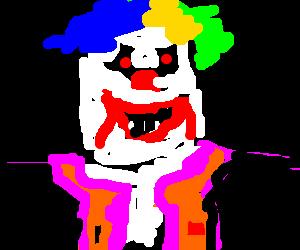 An insane murderous clown