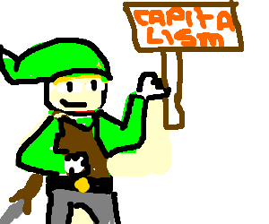 Link Being a DIRTY COMMIE,Protesting CAPITALISM!