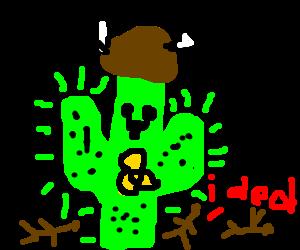 nuclear cactus viking slaying everyone