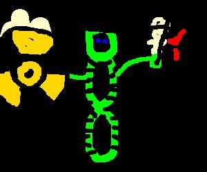 Radioactive viking cactus