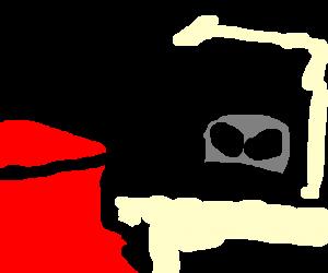 Kool-Aid man gets visited by aliens