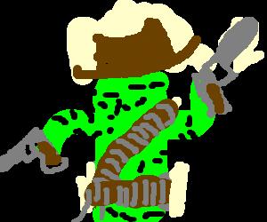 Cowboy octopus