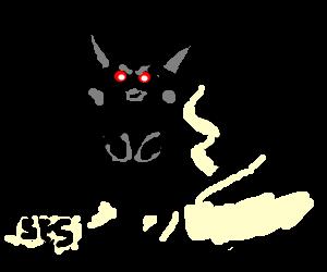 Black Pikachu plots revenge