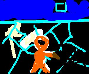 Eskimo Vampire hunter