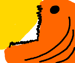 giant fish eats the sun