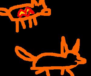 Ginger dreams about his fox fursona