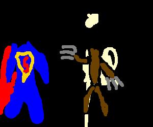 Superman meets Wolverine