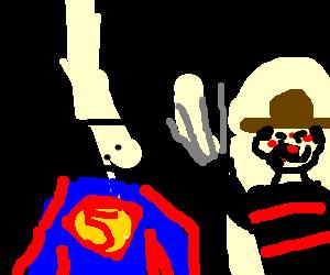 Superman meets freedy kruger
