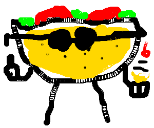A Taco Person with Some Icecream