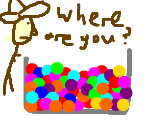 A conquistador's friend is lost in a ball pit