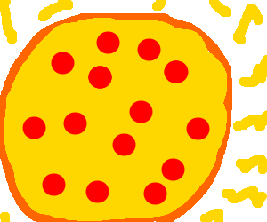 Lots a cheese on pizza