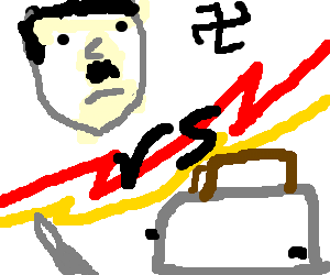 hitler vs toasters