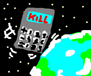 Deadly calculator humping Earth on Sunday