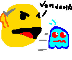 pacman gets his revenge